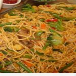 Vegetable Chow Mein / Hakka Noodles